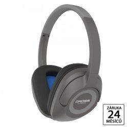 KOSS BT 539i Grey, bluetooth sluchátka s mikrofonem