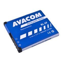 Avacom náhrada za baterii Nokia BL-5F, 3.6V, 1000mAh