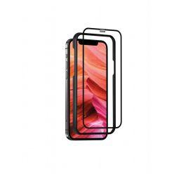 Ochranné tvrzené sklo FIXED 3D Full-Cover s aplikátorem pro Apple iPhone 12 Pro Max, černé