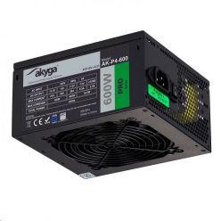 Akyga ATX PC zdroj 600W Pro ventilátor 12cm