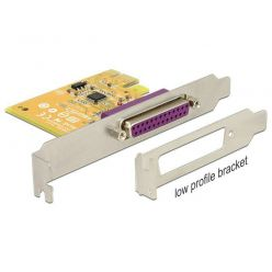 Delock paralelní řadič, 1x LPT, SUN2212, PCIe