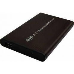 "ACUTAKE DarkHDDCase 25U, externí box na 2.5"" IDE HDD, USB 2.0, černý"