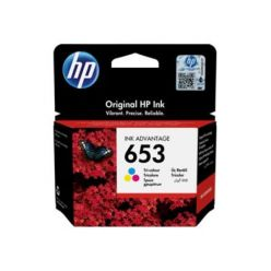 HP 653, barevná inkoustová náplň, 5ml, 3YM74AE