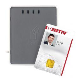 Identiv uTrust 4701F DUAL interface čtečka, USB