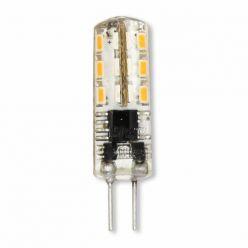 Tesla - LED žárovka G4, 1.5W, 12V AC/DC, 90lm, 360°, 10 000 hod, 3000K teplá bílá