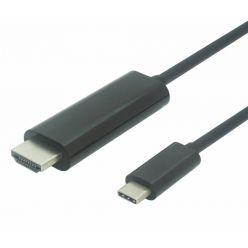 PremiumCord kabel USB-C na HDMI 1,8m rozlišení 4K@60Hz