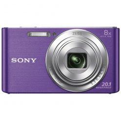 """SONY DSC-W830P, 20MPx, 8x zoom, 2.7"""" LCD, fialový"""