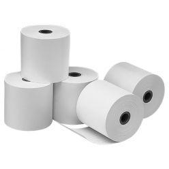 X-POS papírové termo kotoučky 55g/m2, průměr 70mm, šířka 80mm, dutinka 12mm - balení 5ks