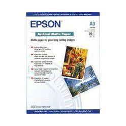 EPSON - Paper A3 Archival Matte, 120g, 50 listů