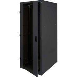 """Triton 19"""" rozvaděč stojanový 42U/600x600, skleněné dveře, černý"""
