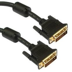 DVI kabel DVI-D dual link M-M, 5m