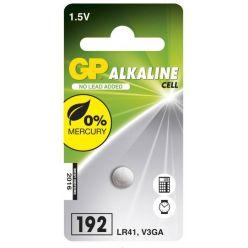 GP LR41 (GP192, 7.9 x 3.6 mm) - 1 ks