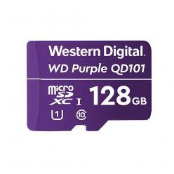 WD Purple 128GB microSDHC karta, UHS-I U1