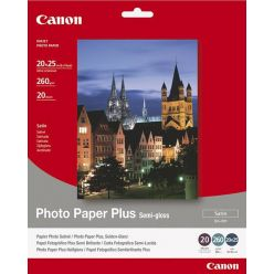Canon SG-201, fotopapír 20x25cm, 260g/m2, 20 listů, pololesklý
