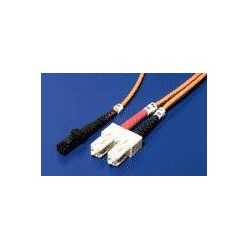 Optický patchkabel MTRJ-SC 62.5/125 (multi mode), duplex, 5m
