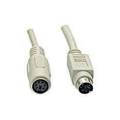 Kabel prodlužovací, PS/2 (6M - 6F), 2m
