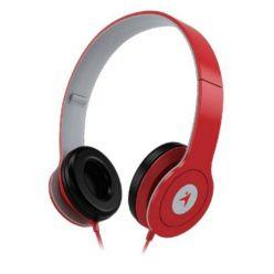 Genius HS-M450, sluchátka s mikrofonem, 1x 3.5mm jack, červená