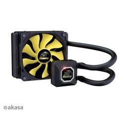 AKASA Venom A10, vodní chladič CPU, 120mm fan
