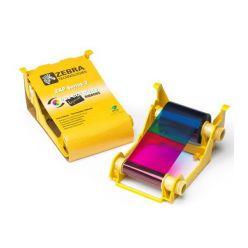 Páska Zebra ZXP3 YMCKO, barevná barvící páska