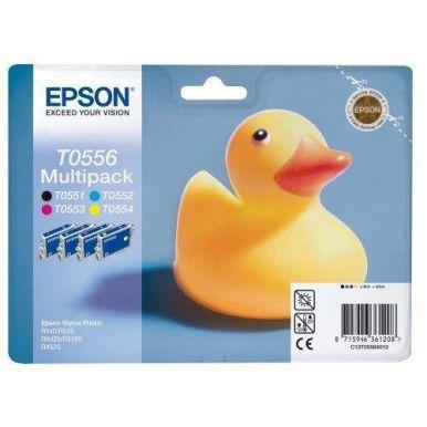 Epson T0556 CMYK MultiPack pro Stylus Photo R240/245,RX420/425/520
