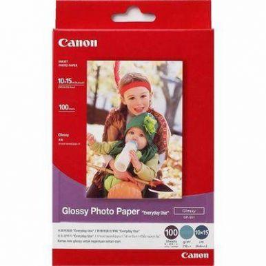 Canon GP-501, lesklý fotografický papír, 10x15 cm, 210g/m2, 100 listů