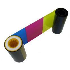 Páska Zebra P330i/P430i, YMCKO, barevná barvící páska pro potisk 330ks plastových karet
