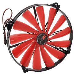 AIREN RedWingsGiant 200mm ventilátor, 550rpm, 3-pin, červené LED