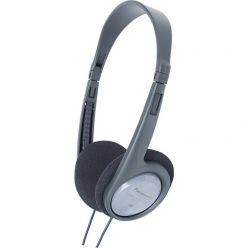 Panasonic RP-HT090E-H, sluchátka, šedá