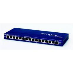 Netgear FS116GE, 16x 10/100 Port switch, exter. zdroj