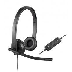 Logitech H570e Stereo USB Headset, OEM