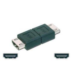 Roline HDMI spojka, HDMI A(F) -> HDMI A(F), černá