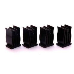 ACUTAKE ACU-DS1 DarkSouther - Sada 4pcs černých hliníkových chladičů