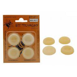 BEE BEE-RCF1, antivibrační samolepící nožičky pro PC, 4ks v balení