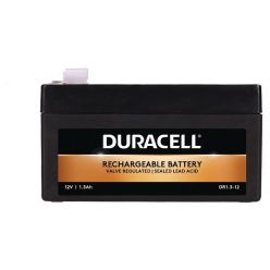 Duracell DR1.3-12 Duracell 12V 1.3Ah VRLA Security Battery F2