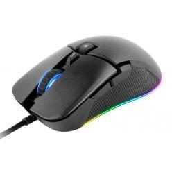 C-TECH herní myš Dawn (GM-24L), casual gaming, 6400 DPI, RGB podsvícení, USB