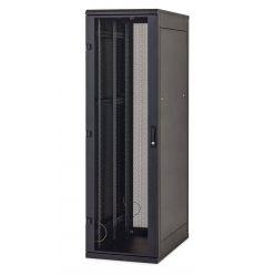 """Triton 19"""" rozvaděč stojanový 45U/800x600, skleněné dveře, černý"""