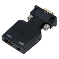PremiumCord Převodník VGA na HDMI s audio vstupem a audio kabelem