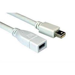 Kabel prodlužovací mini DisplayPort 1.1 (M) - mini DisplayPort (F), 1m