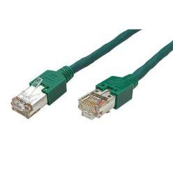 STP patchkabel kat. 5e, CU 5502 flex PVC, TM11, 0,5m, zelený