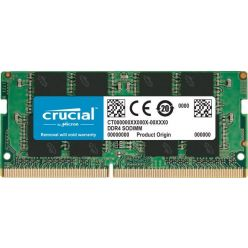 Crucial 16GB DDR4 2666MHz CL19, DR x64, SO-DIMM