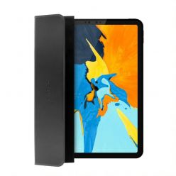 Pouzdro FIXED Padcover pro Apple iPad Air (2020) se stojánkem, podpora Sleep and Wake, temné šedé