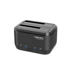 """Natec Kangaroo Dual, dokovací stanice pro 2.5""""/3.5"""" HDD, USB 3.0, funkce klonování"""