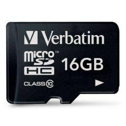 Verbatim 16GB micro SDHC karta, Class 10