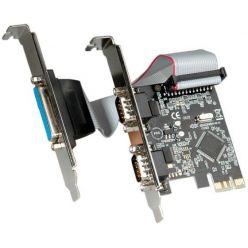Value řadič 2x sériový port RS232, 1x paralelní port LPT, PCIe