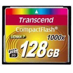 Transcend 128GB CompactFlash paměťová karta, 1000x