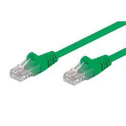 Patch kabel UTP RJ45-RJ45 level 5e 1,5m zelený