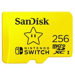 SanDisk Nintendo Switch microSDXC 256GB