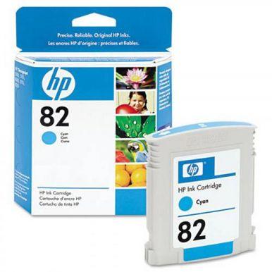 HP 82, azurová inkoustová cartridge, 69ml