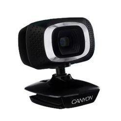 CANYON CNE-CWC3N webkamera, 720p, otočná o 360°, USB 2.0