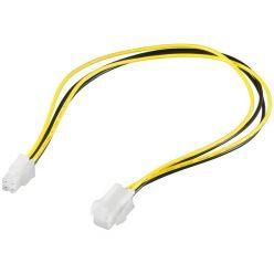 Goobay prodlužovací P4 (4 piny) napájecí kabel, 30 cm